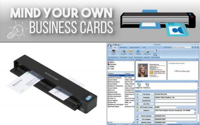 Mind Your Own Business Cards